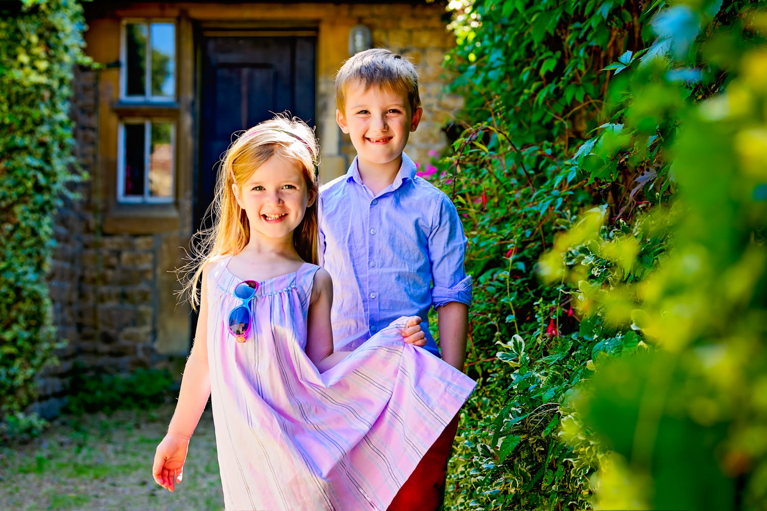 Alexandra Tandy Photography portrait of brother and sister