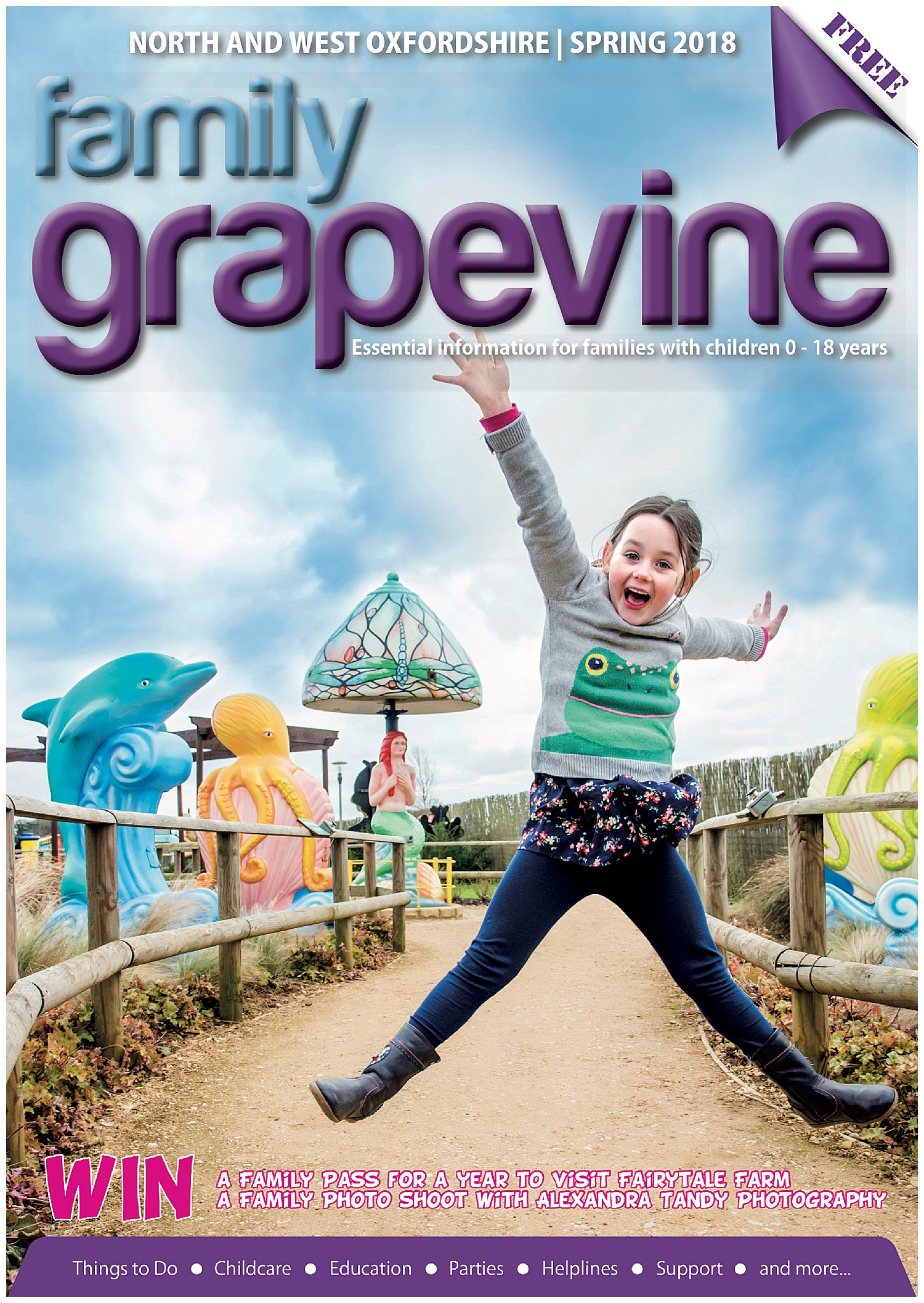 Magazine front cover by Alexandra Tandy Photography - Marketing Photographer